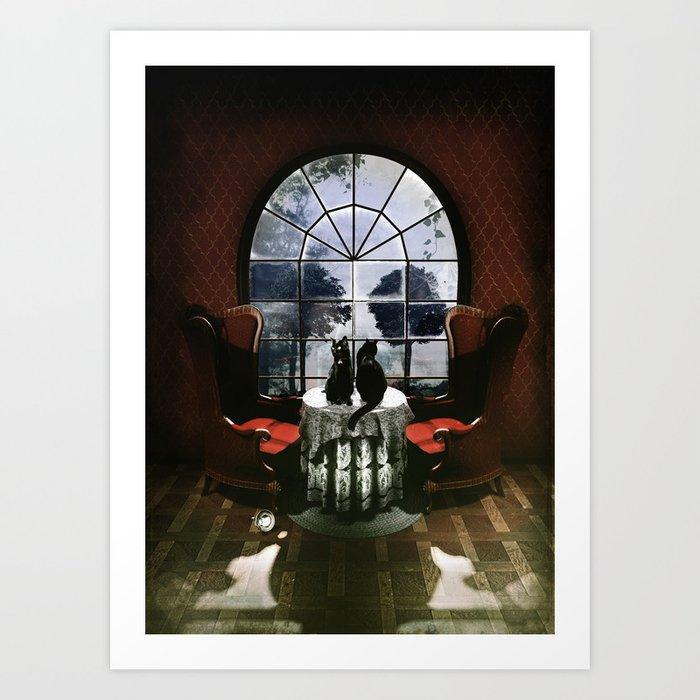 Room Skull Kunstdrucke