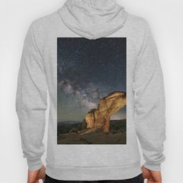 Broken Arch With The Rising Milky Way Hoody