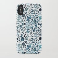 oana befort iPhone & iPod Cases featuring Blue Meadow by Oana Befort