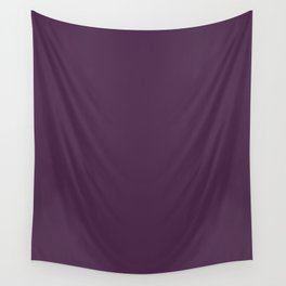 Fashionable shades of Aubergine Wall Tapestry