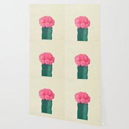 Pink Plaid Cactus Wallpaper