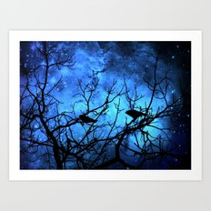 Crows: Attempted Murder -Blue Skies Art Print