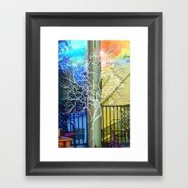 Outside View Framed Art Print