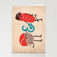 rock and roll Stationery Cards featuring Rock & Roll by Roland Lefox