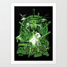 Ludo Ergo Sum Art Print