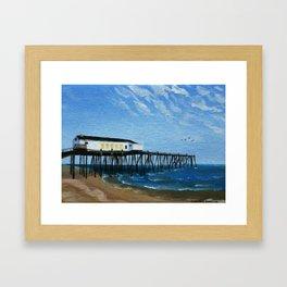 NC Beach Inspired 10 Framed Art Print