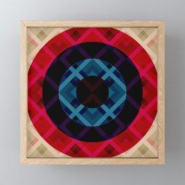 Sianish - Colorful Abstract Art Framed Mini Art Print