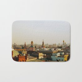 Rooftop of Moscow Bath Mat