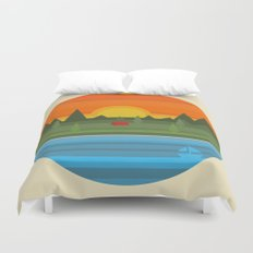 Camping Duvet Cover
