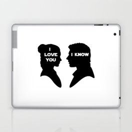 I Love You - I Know Laptop & iPad Skin