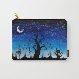 Magic watercolor night Carry-All Pouch