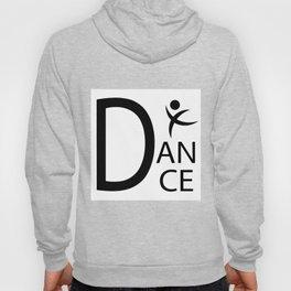 White Dance Symbol Hoody