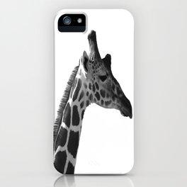 Lone Giraffe iPhone Case