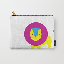 Lion in Purple Carry-All Pouch