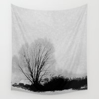 lonely Wall Tapestries featuring LONELY by ..........