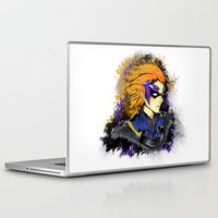 fire emblem Laptop & iPad Skins featuring Fire Emblem Awakening - Gerome by inkjamz