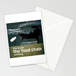 food chain 3 Stationery Cards