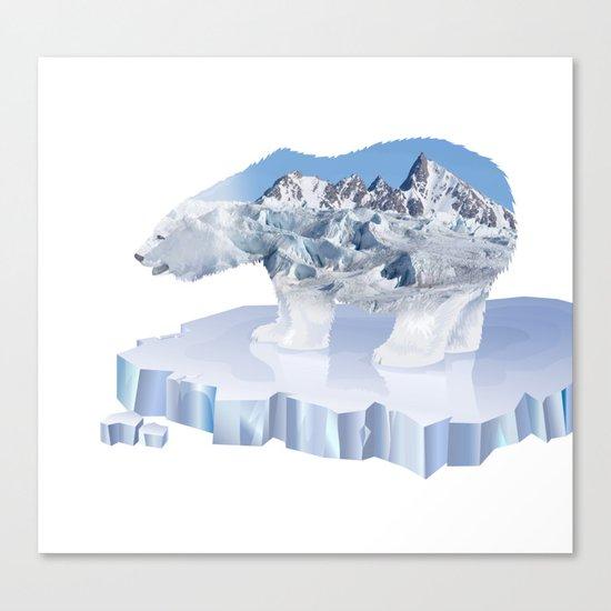Polar Bear VI Canvas Print