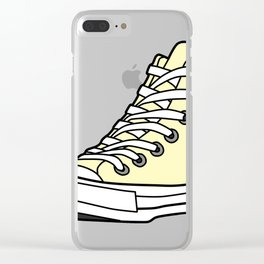High-Top Sneaker Clear iPhone Case