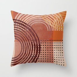 Natural Geometry  VI Throw Pillow