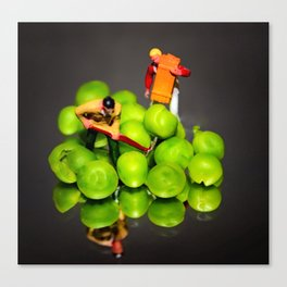 The Pea Farmers Canvas Print
