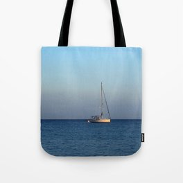 sailing in palamutbükü Tote Bag
