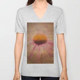 Cone Flower Dream Unisex V-Neck