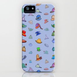 Funny Hats iPhone Case