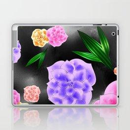 Black Blush Rose Laptop & iPad Skin