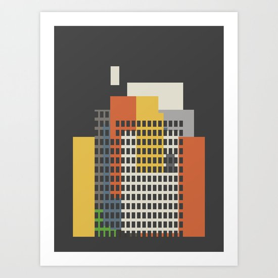 architecture and morality Art Print