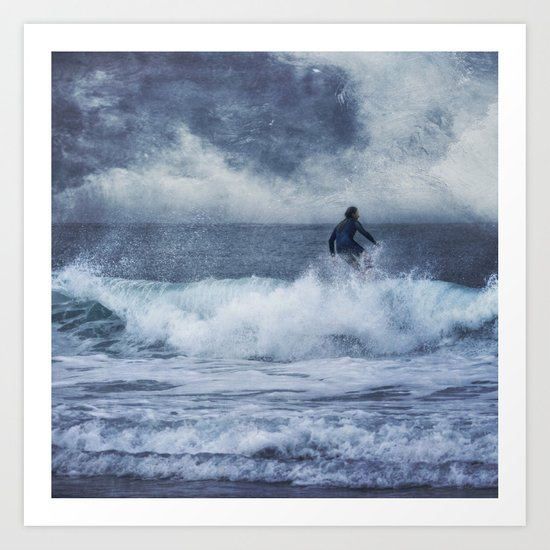sea power Art Print
