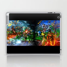 Nintendo Vs Sega Laptop & iPad Skin