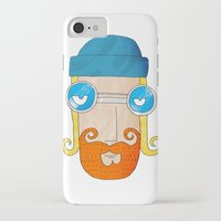 jack daniels iPhone & iPod Cases featuring Jack by marcusmelton