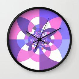 Unicorn Kaleidoscope Mandala Wall Clock