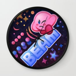 Kirby Beam Wall Clock
