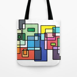 Color Connection Design Tote Bag