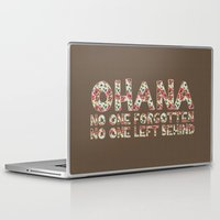 ohana Laptop & iPad Skins featuring No One Forgotten by The Crafty Geekette