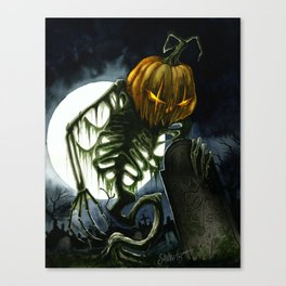 Jack the Reaper Canvas Print