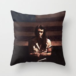 Lillie Mae - The American Girl Throw Pillow