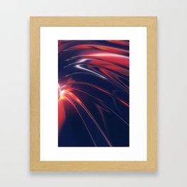 Iridescent Metal Framed Art Print