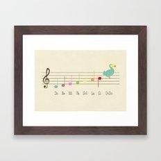 Music Lesson Framed Art Print
