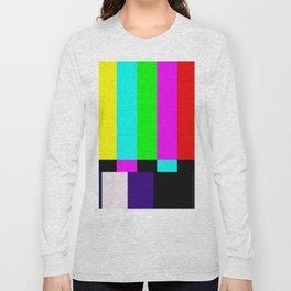 No Signal TV Long Sleeve T-shirt