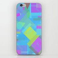 fifth element iPhone & iPod Skins featuring Element by Mariana Lisina