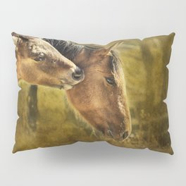 Horsing Around No. 2 - Pryor Mustangs Pillow Sham