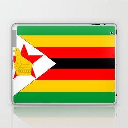Zimbabwe country flag Laptop & iPad Skin
