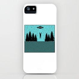 Extraterrestial Alien Tshirt Design iPhone Case