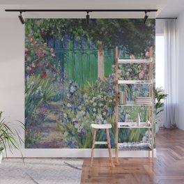 Monet's Door — Giverny, France Wall Mural
