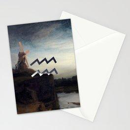 Fine Zodiac / Aquarius Stationery Cards