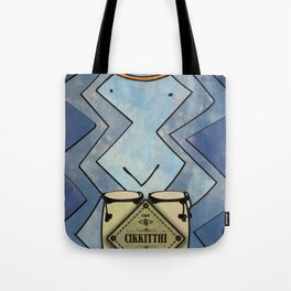 Cikkitthi from < Q > (Congas) Tote Bag