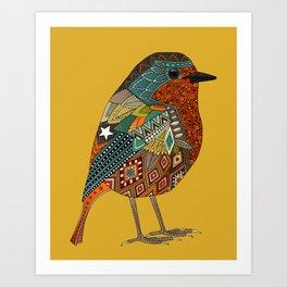 robin gold Art Print